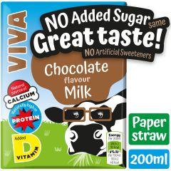 Viva Chocolate Milkshake Cartons 27 x 200ml
