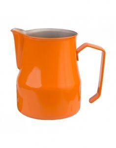 Motta Teflon Foaming Jug - Orange (500ml)