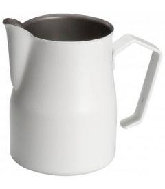 Motta Teflon Foaming Jug - White (750ml)