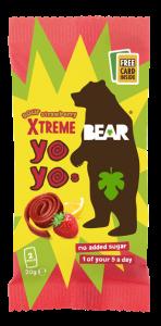 100% Fruit - Xtreme Strawberry & Apple Sour Yo Yo 18 x 20g