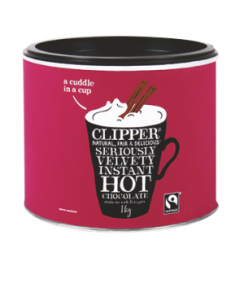 Clipper Fairtrade Seriously Velvety Hot Chocolate 1kg