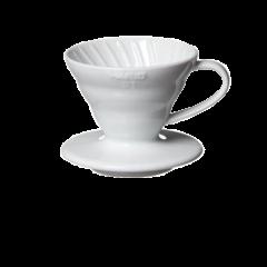 Hario Coffee Dripper V60 01 (White Plastic)