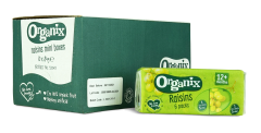 Organix Raisins Mini Boxes 60 units per case