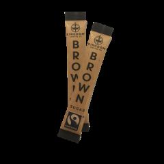 Kingdom Branded Fairtrade Brown Sugar Sticks 1 x 1000