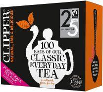 Clipper 6 x 100 Fairtrade Everyday Teabags