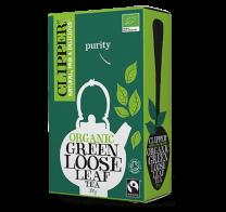Clipper Fairtrade Organic Pure Green Loose Leaf Tea 100g