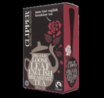 Clipper Fairtrade Organic Loose Leaf English Breakfast Tea 125g