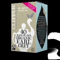Clipper 1 x 40 Fairtrade Organic Earl Grey