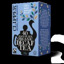 Clipper 1 x 40 Fairtrade Organic Decaf Teabags