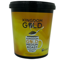 Gold Fairtrade Instant Coffee 500g tub