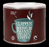 Clipper Fairtrade Organic Medium Roast Arabica 500g