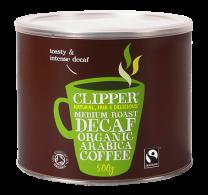 Clipper Fairtrade Organic Medium Roast Decaff 500g