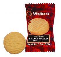 Walkers Mini Shortbread Round Biscuits