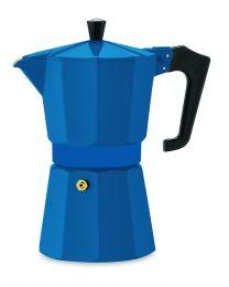 Pezzetti Italexpress 6 Cup Moka Pot Teal Blue