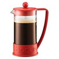 Bodum Brazil French Press Coffee Maker 8 Cup - Red