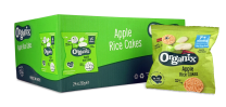 Organix Apple Rice Cakes 24 by 28g
