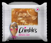 Mrs Crimble's Gluten Free Bakewell Slice 1 x 24