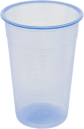 7oz Recyclable Blue Tint Water Cup 1 x 2000