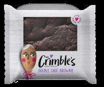 Mrs Crimble's Gluten Free Double Choc Brownie 1 x 24