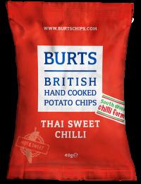 Burts Thai Sweet Chilli Crisps 20 x 40g