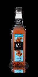 1883 Caramel SUGAR FREE Syrup 1 Litre