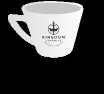 Kingdom Branded Cappuccino Cup (7oz)