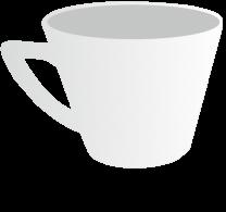 12oz Plain Cappuccino Cup