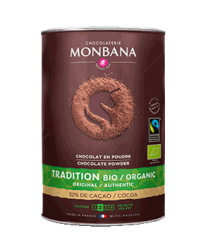 Monbana Fairtrade Organic Hot Chocolate 1kg