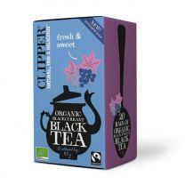 Clipper 1 x 20 Organic Blackcurrant Black Tea