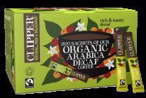 Clipper Fairtrade Organic Decaff Coffee Sticks 1 x 200
