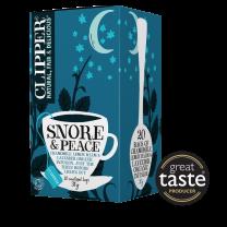 Clipper 1 x 20 Snore & Peace Organic Infusion