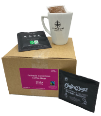 Fairtrade Colombian One Cup Coffee Bagz 50 x 8g