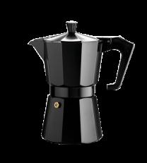 Pezzetti Italexpress 3 Cup Moka Pot Black