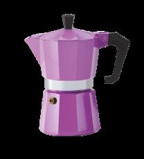 Pezzetti Italexpress 3 Cup Moka Pot Lilac