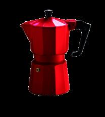Pezzetti Italexpress 3 Cup Moka Pot Red