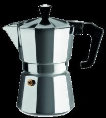 Pezzetti Italexpress 6 Cup Moka Pot Aluminium