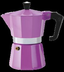 Pezzetti Italexpress 6 Cup Moka Pot Lilac