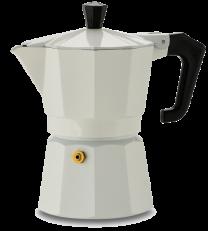 Pezzetti Italexpress 6 Cup Moka Pot White