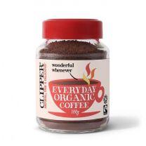 Clipper Fairtrade Organic Rich Roast Coffee - 100g