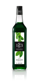 1883 Green Mint Syrup 1 Litre
