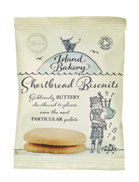 Island Bakery Organic Shortbread Biscuits 48 x 25g