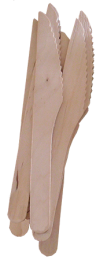 Enviro Wooden Knives 1 x 1000