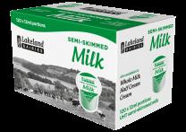 Lakeland UHT Semi-Skimmed Milk Pots 1 x 120