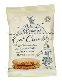 Island Bakery Organic Oat Crumbles 48 x 25g