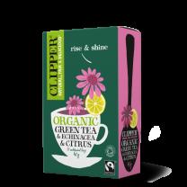 Clipper Fairtrade Green Echinacea & Citrus 1 x 20
