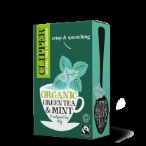 Clipper Organic Fairtrade Green & Mint Teabags 1 x 20