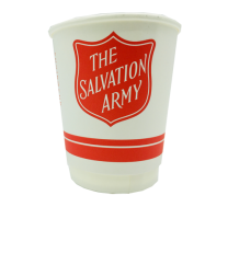 Salvation Army 8oz Compostable Cups 1 x 500