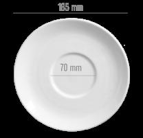 China Cup Saucer - Medium (D: 185mm)