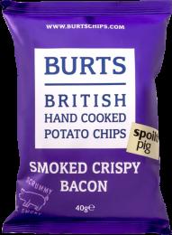 Burts Smoked Crispy Bacon Crisps 20 x 40g