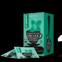 Clipper Fairtrade Organic Peppermint 1 x 25 Teas